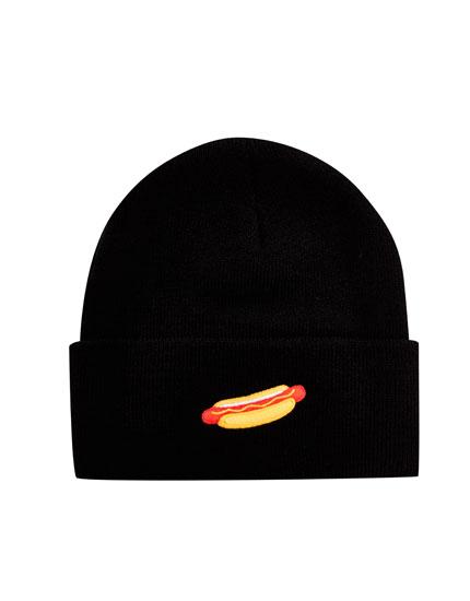 Hot dog beanie