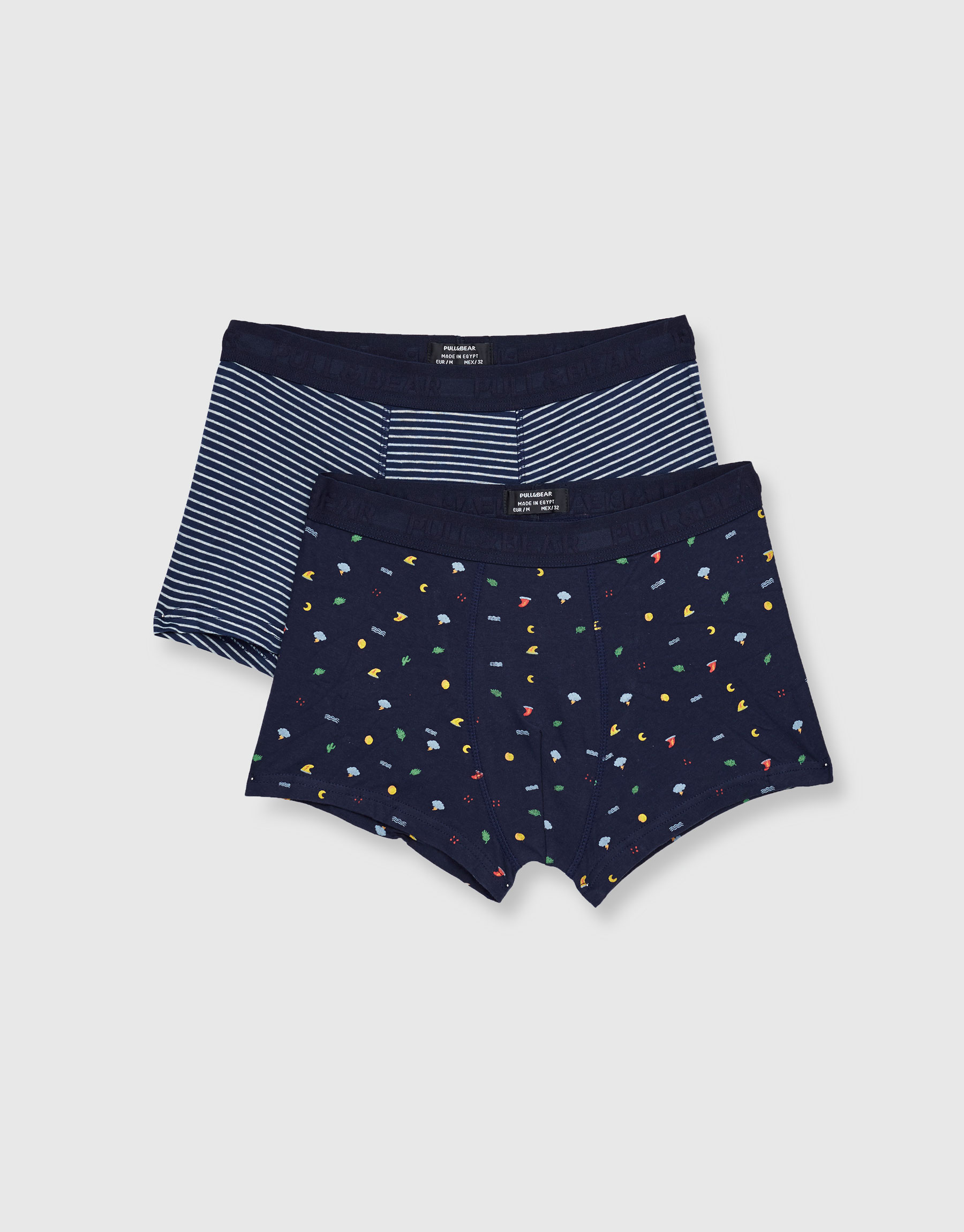 2-pack of nautical print boxers