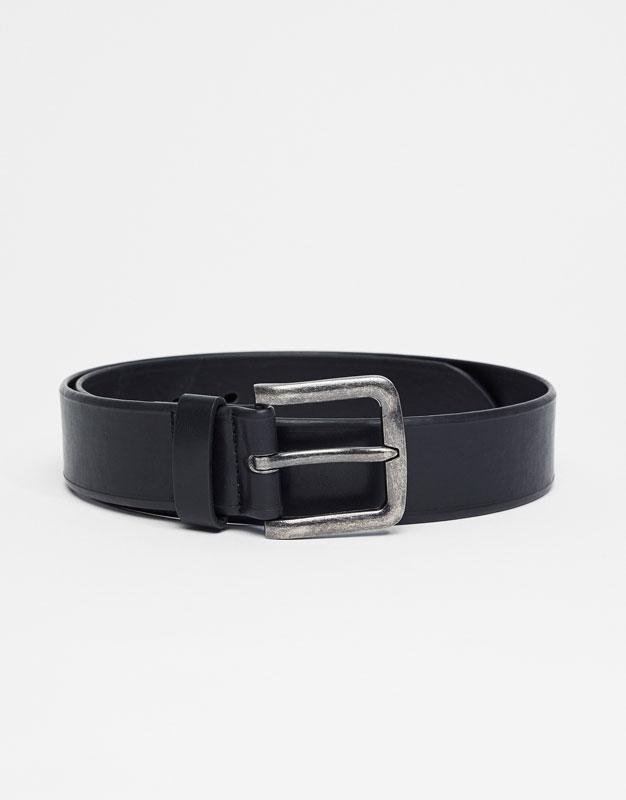 Cinturón hebillla metal