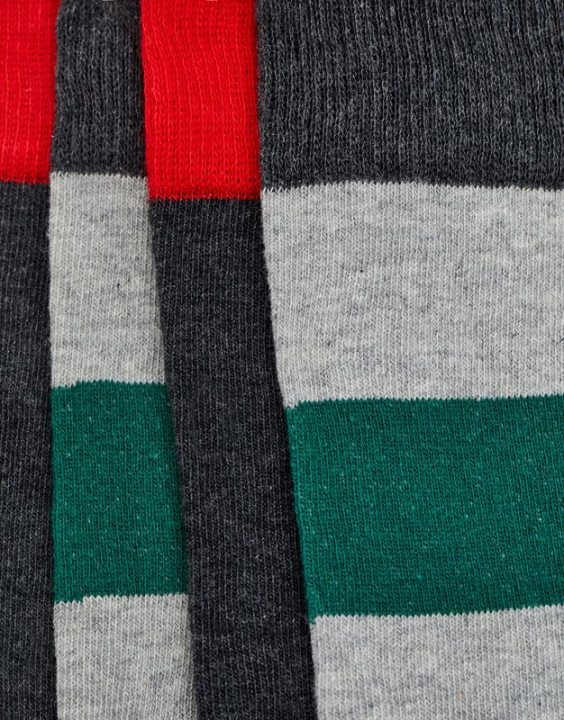 2-pack of long striped socks