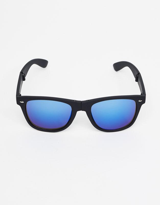 Faltbare Retro-Sonnenbrille