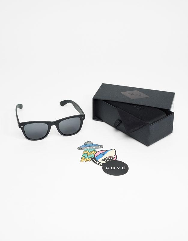 XDYE Sunglasses - Total Black