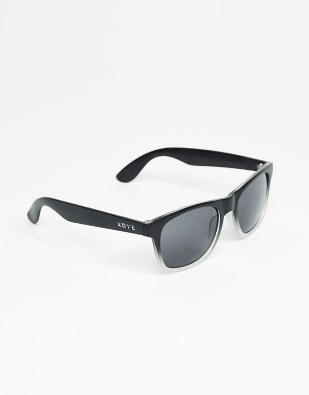 XDYE Sunglasses - Transparent Gradient