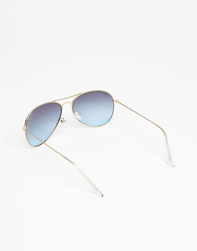 Lunettes XDYE - Classic Airplane Blue