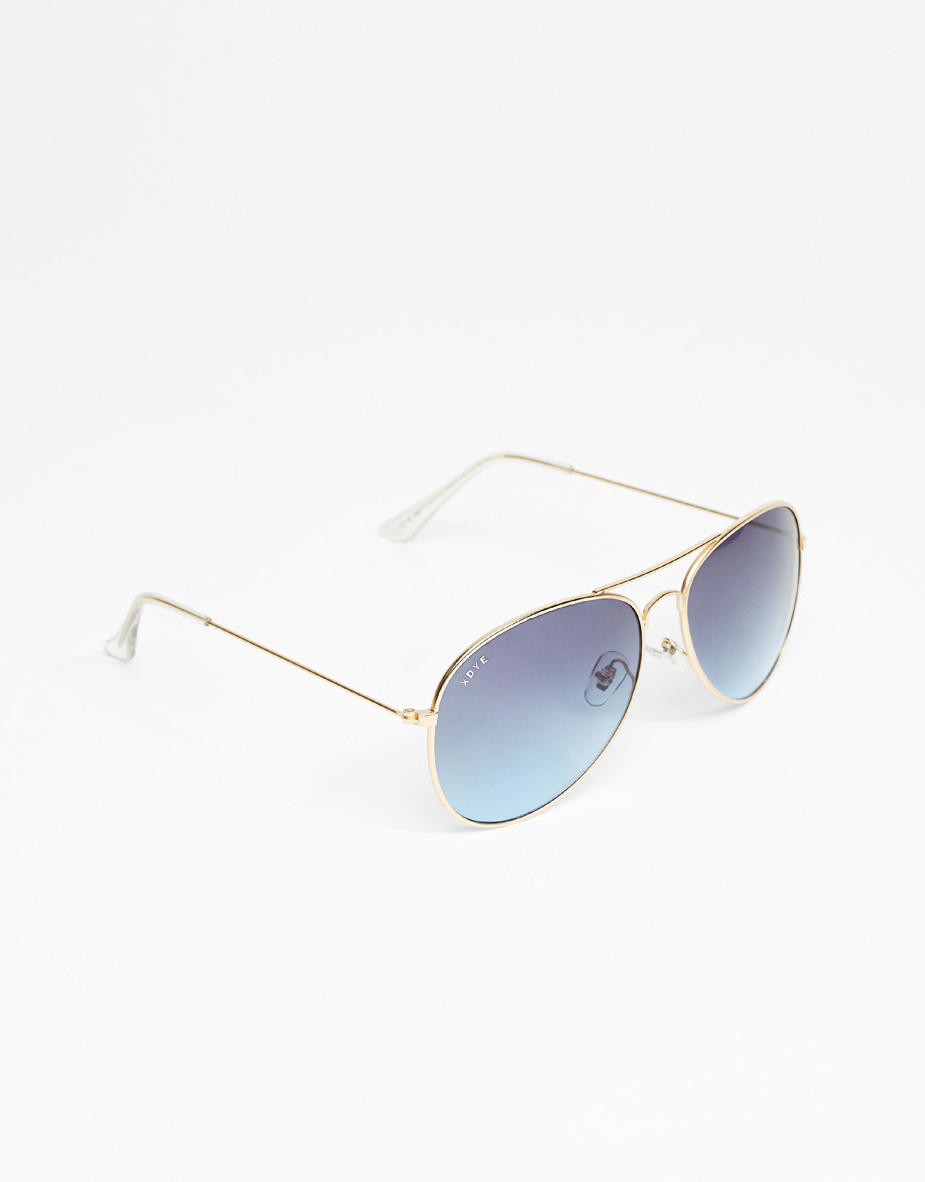 XDYE Sunglasses - Classic Airplane Blue