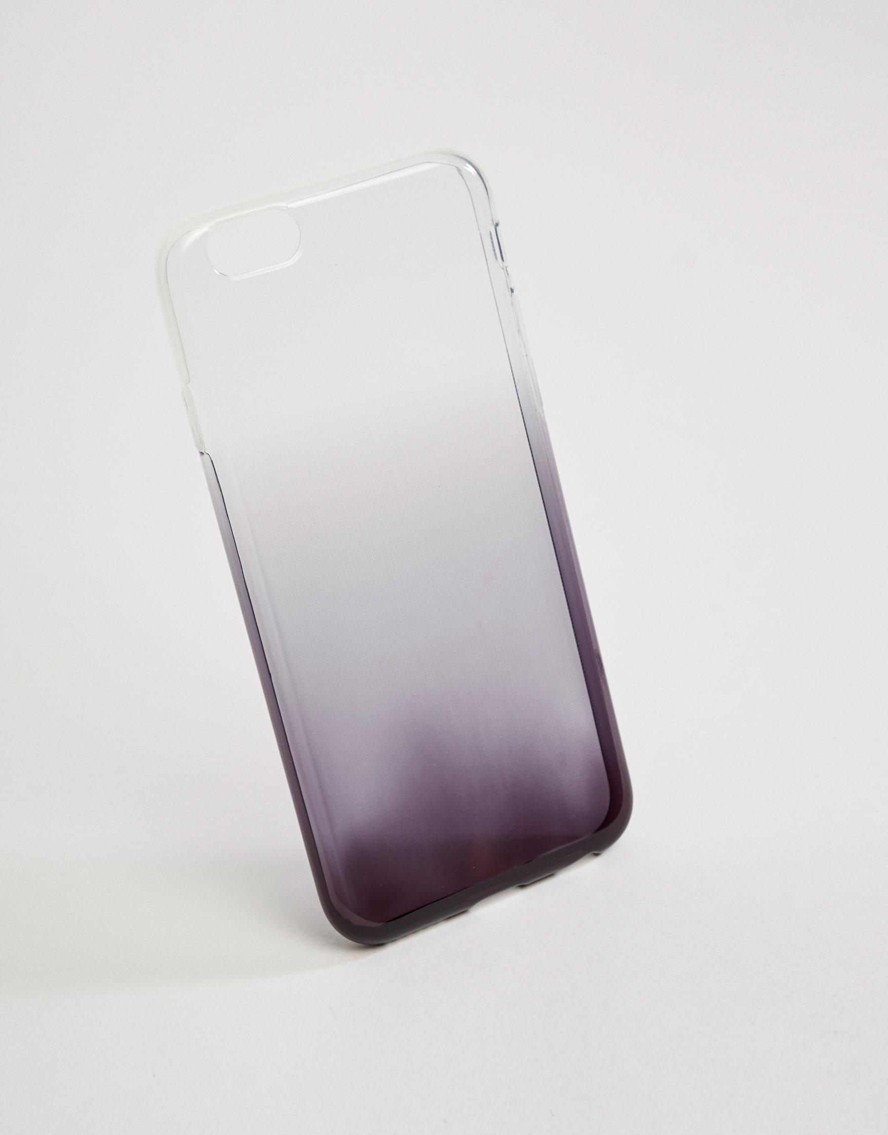 Funda móvil degradado