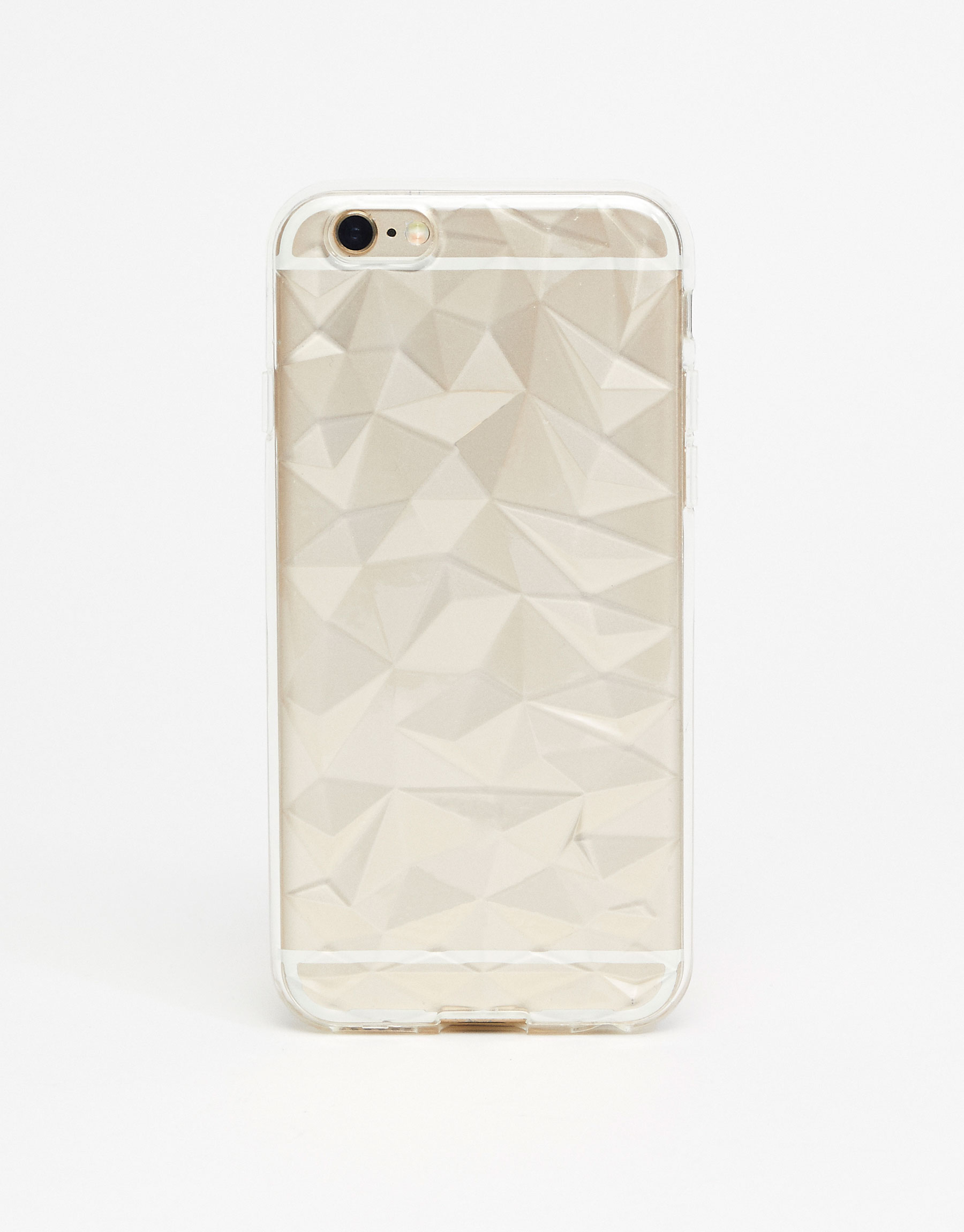 Capa de iPhone tipo diamante