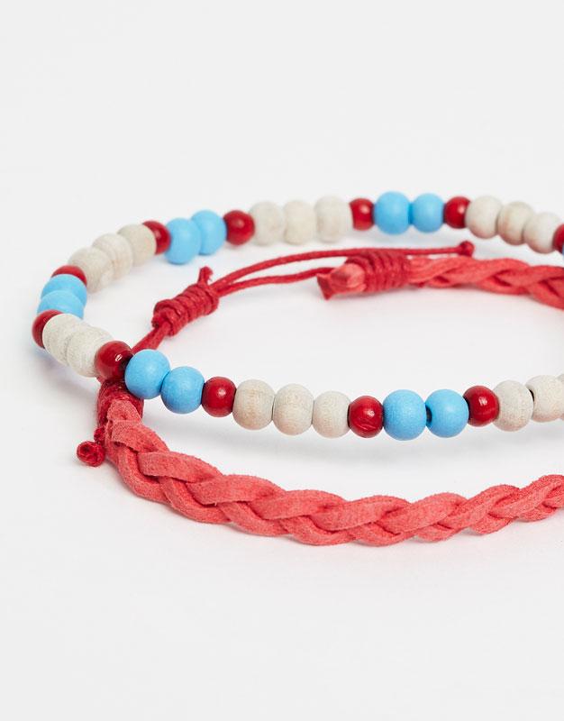 Pack pulseras de cuerda