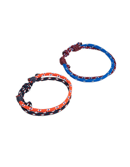 Pack of nautical bracelets