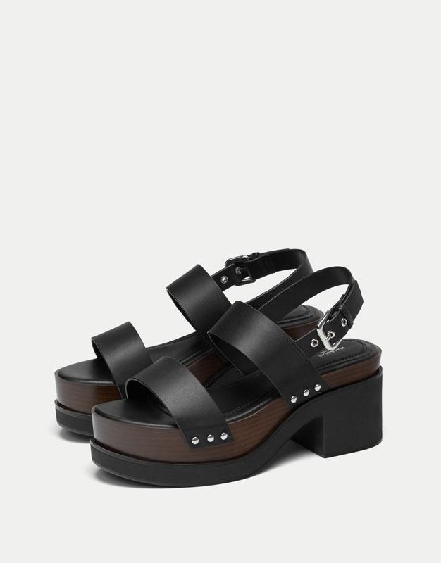 Fashion high heel sandals