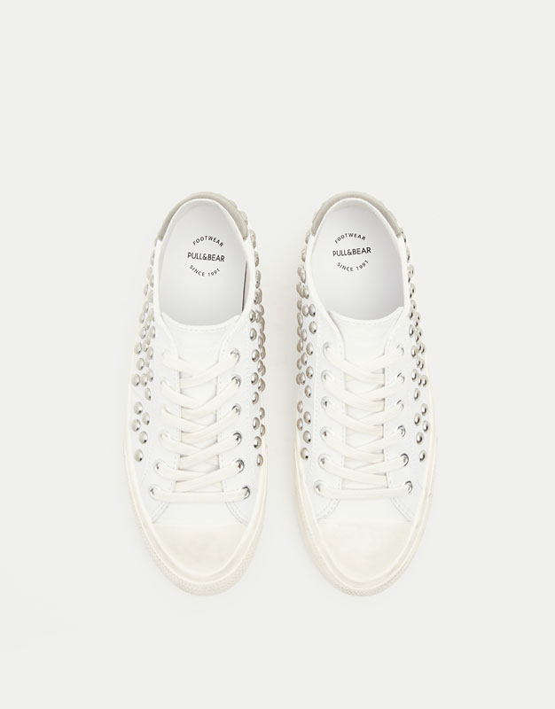 Studded fashion sneakers