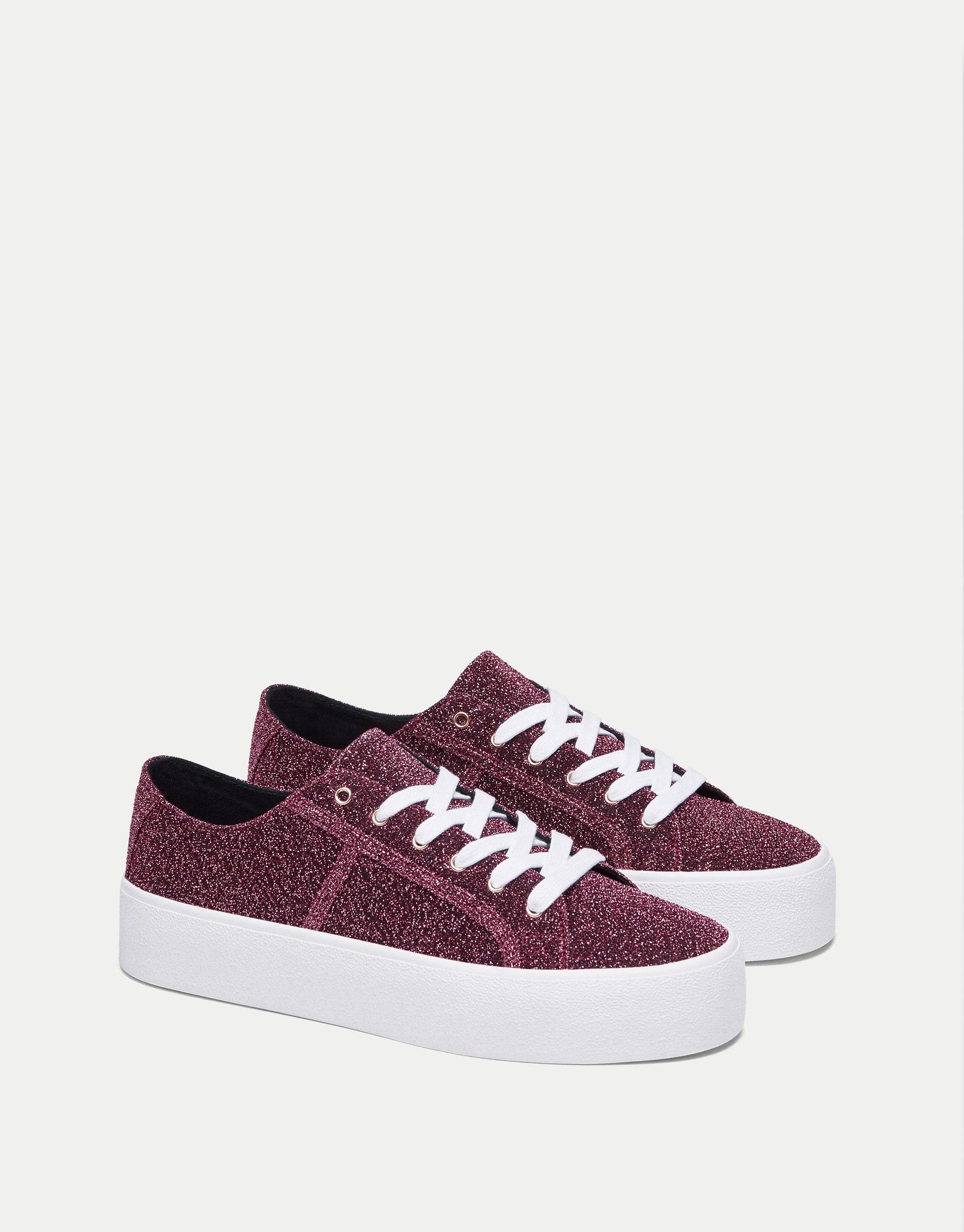 Shiny sneaker