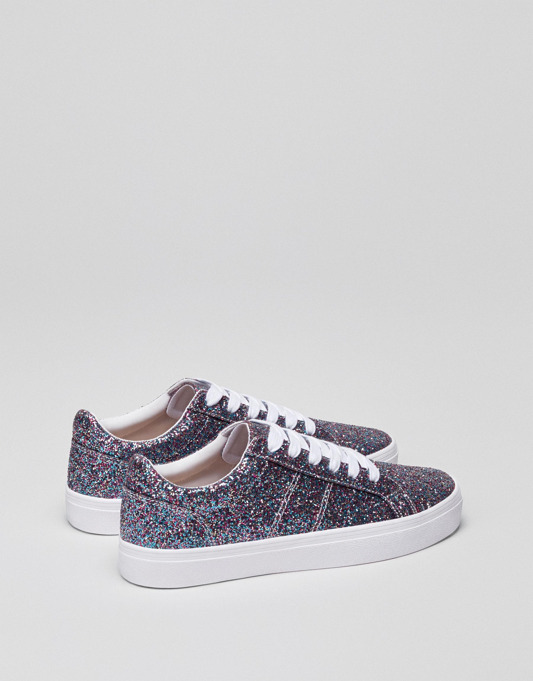 Glittery street sneakers