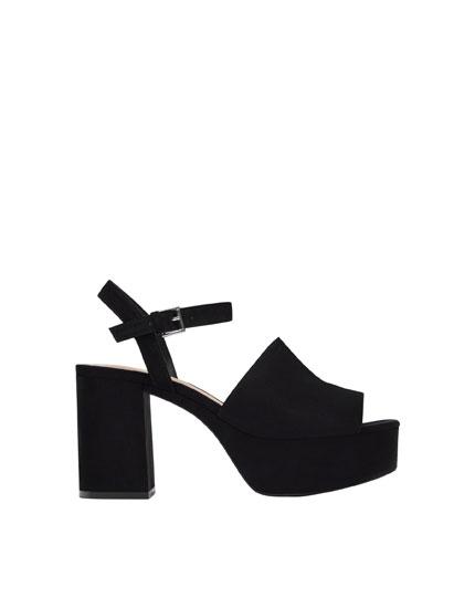Basic high heel sandals