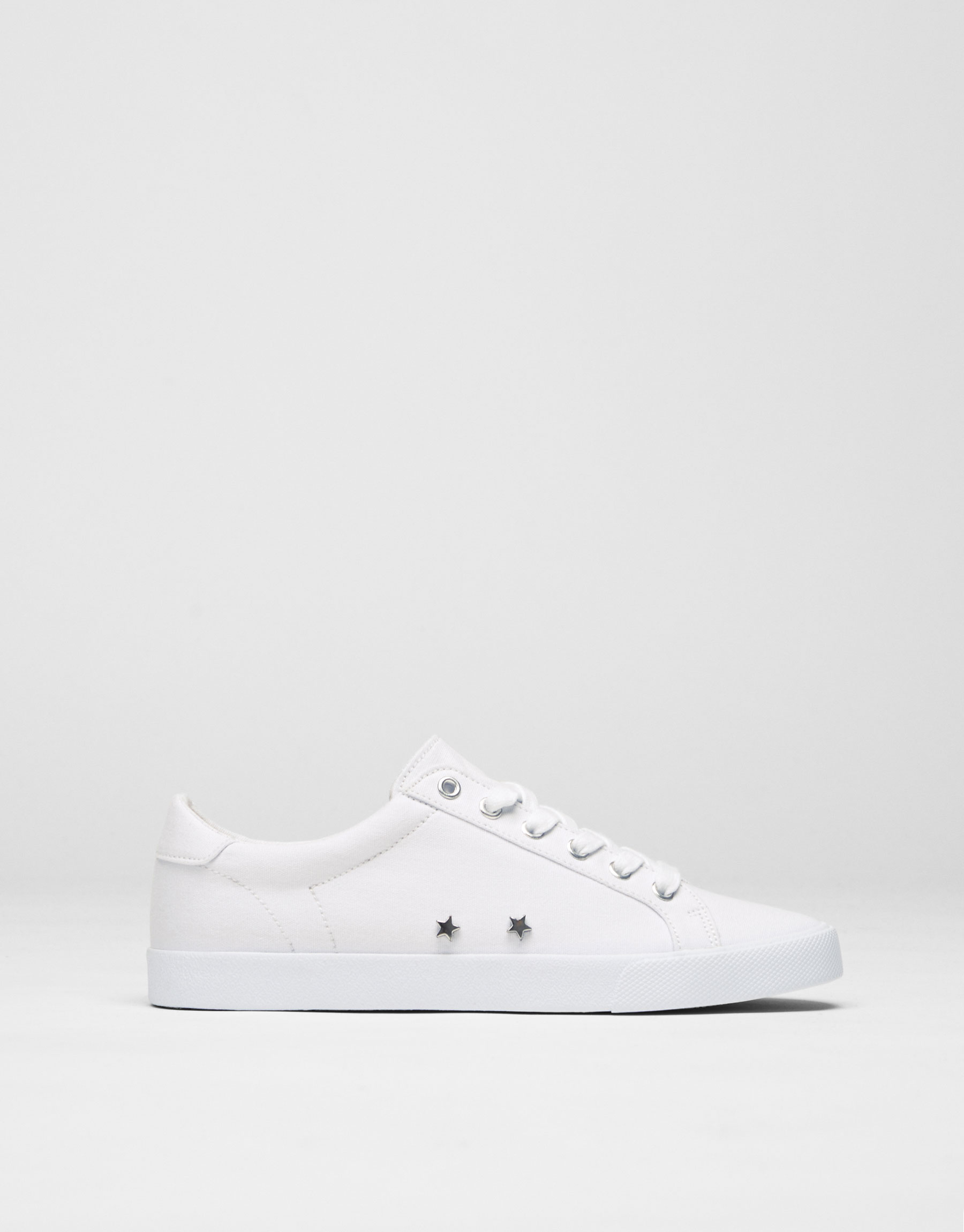 Basic fabric sneakers