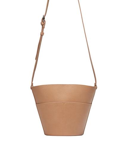 Crossbody tote bag