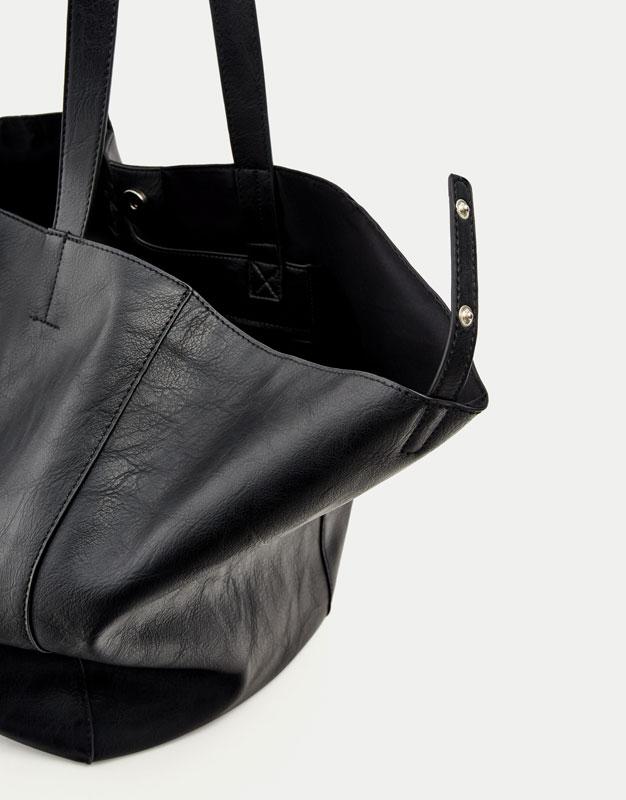 Basic soft tote bag
