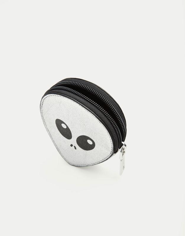 Portemonnaie in Form eines Aliens