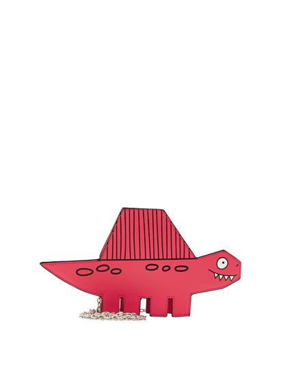 Mini bandolera  dinosaurio