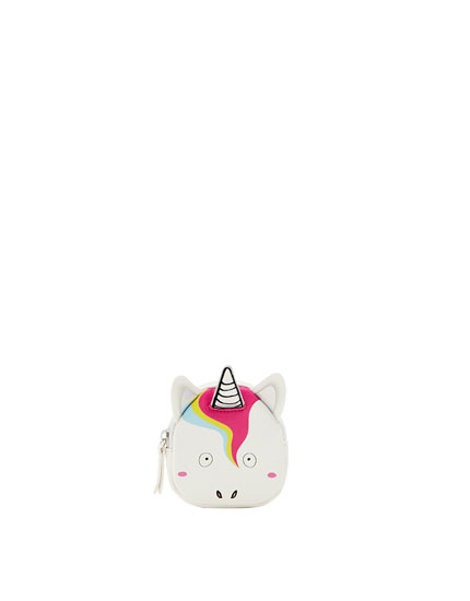 Unicorn-shaped purse