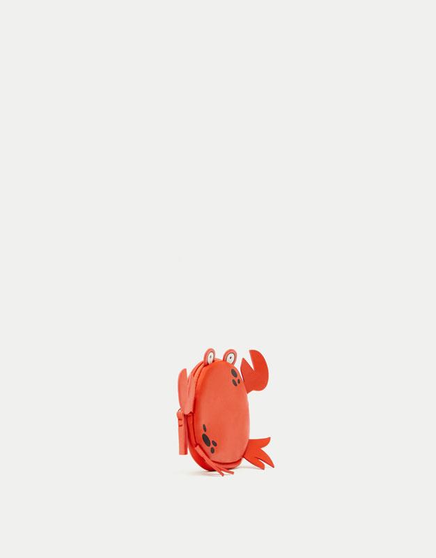 Monedero cangrejo