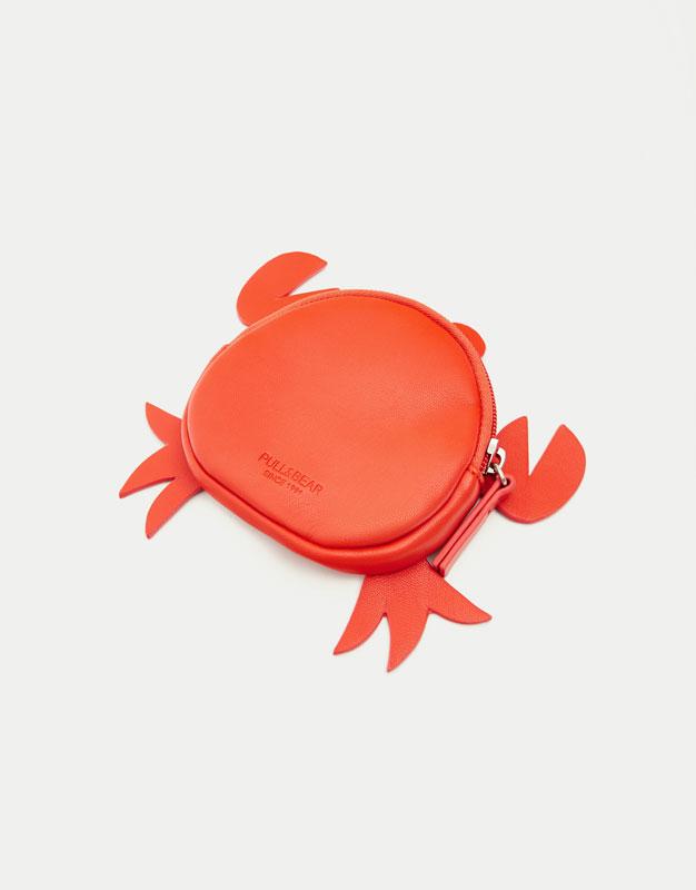 Portemonnaie in Form einer Krabbe