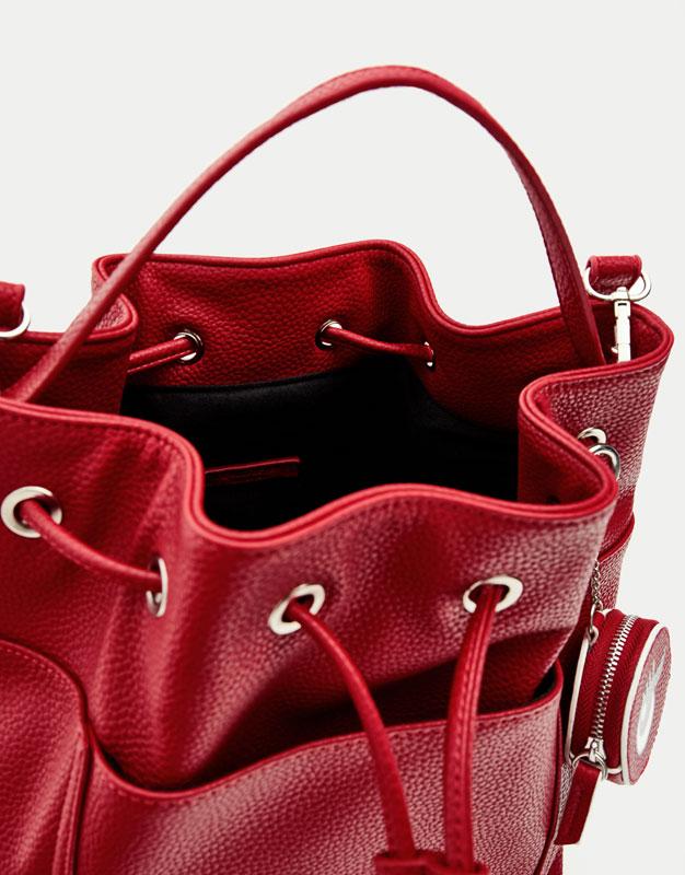 Soft bucket bag