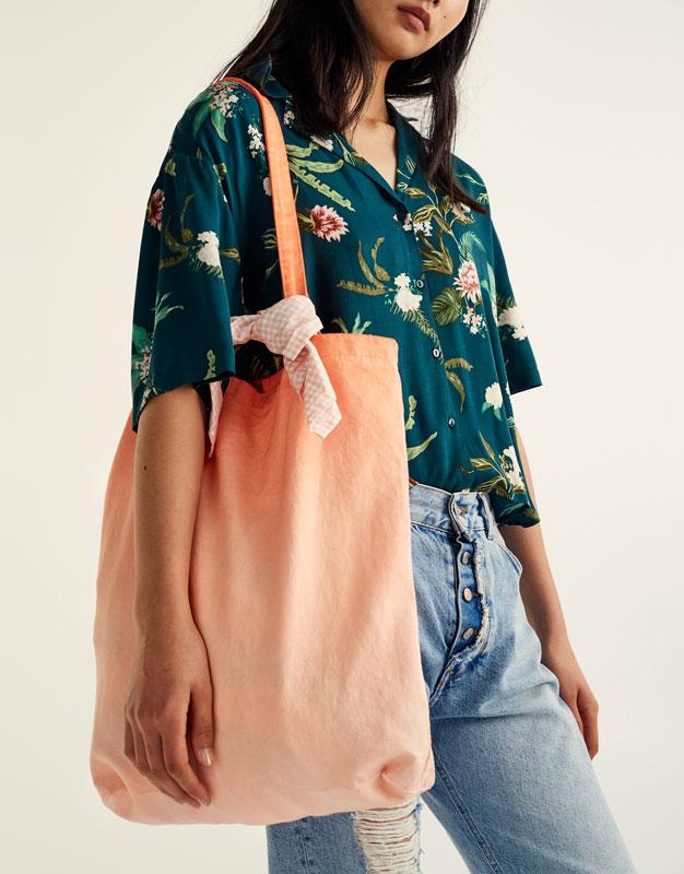 Fabric tote bag