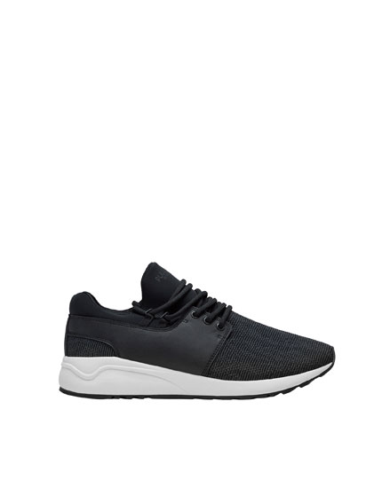 Sock fabric sneakers