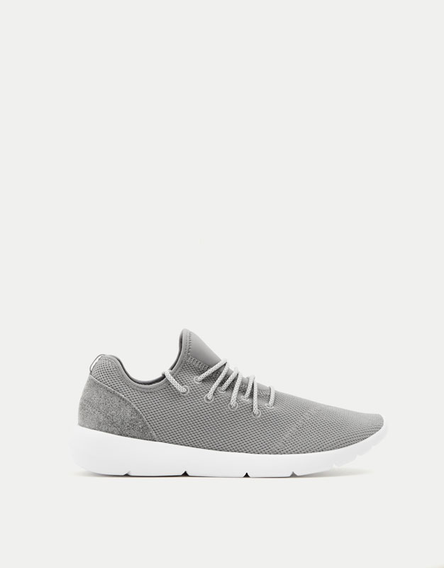 Technical fashion sneakers