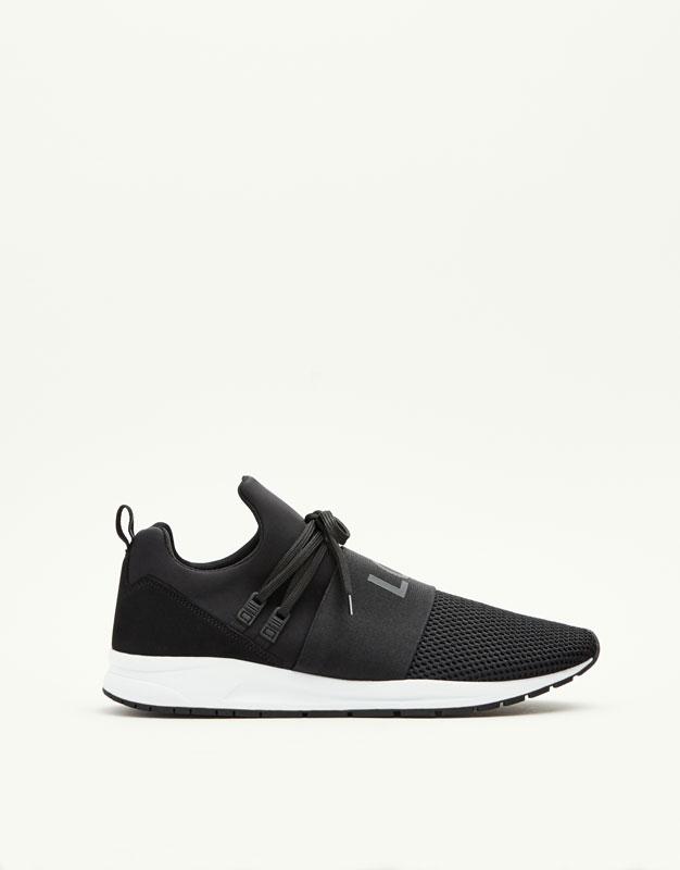 Soft elastic sneakers