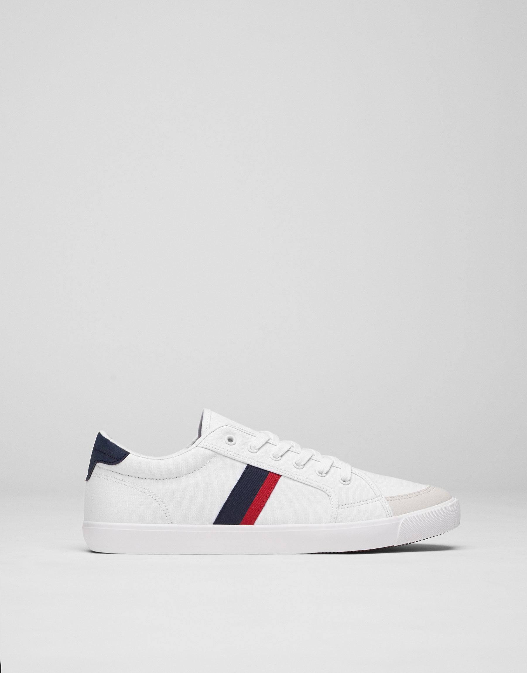 Sneaker canvas fascia