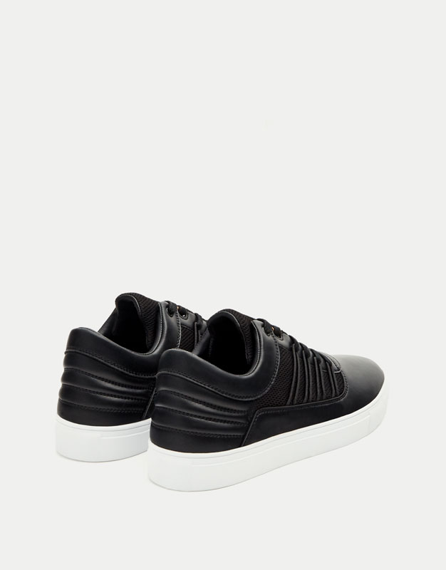 Fashion sneakers with straps