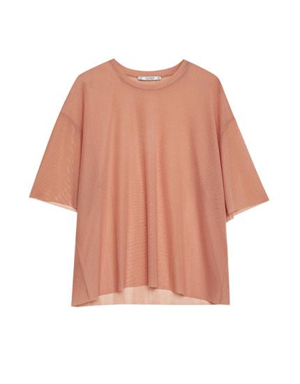 Camiseta tul lisa