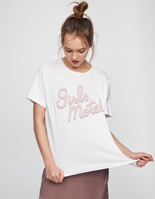 Motel slogan T-shirt