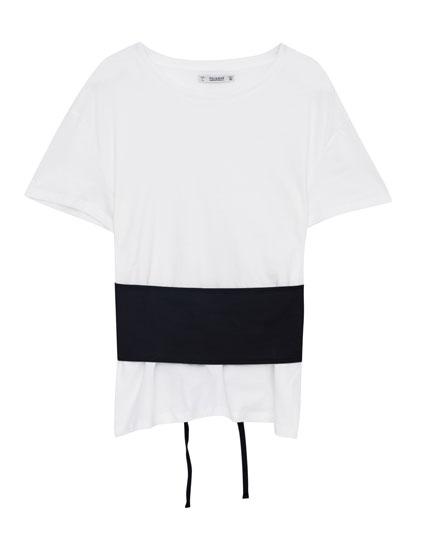 T-shirt corset