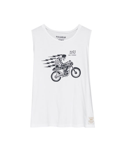 T-shirt with motorcycle graphic (Marc Márquez Collection)