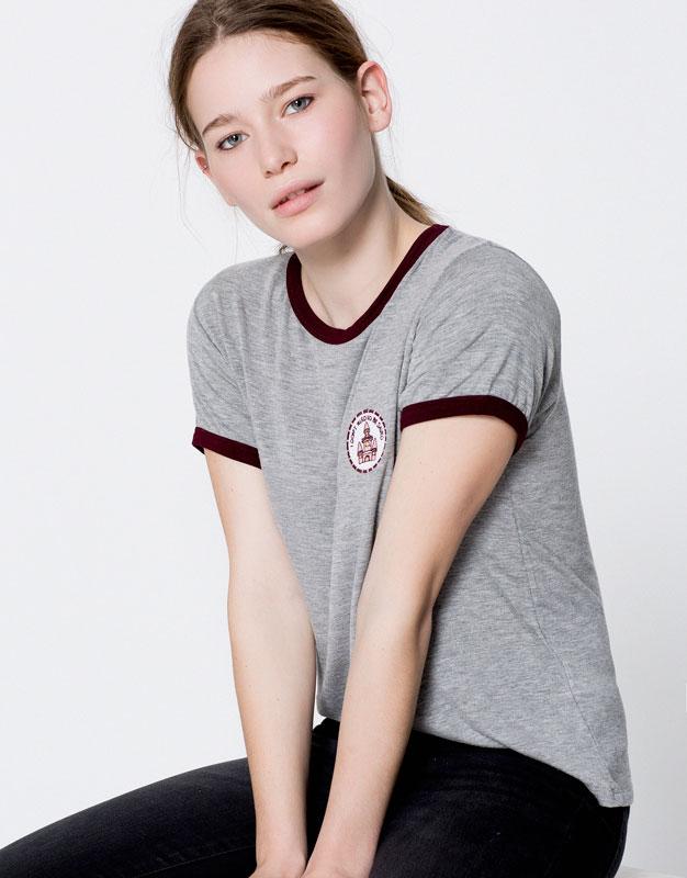 Castle patch T-shirt
