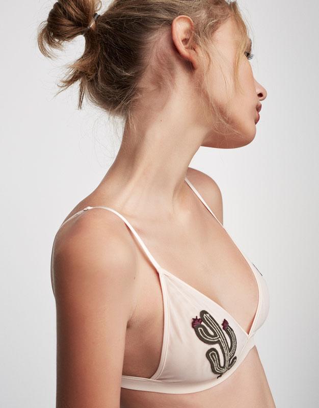 Cactus bra top