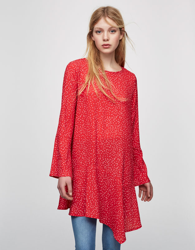 H m red dress uk exchange