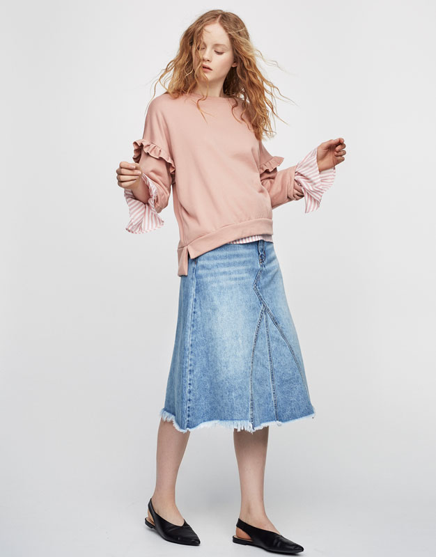 Women's Skirts for Spring Summer 2017 | PULL&BEAR
