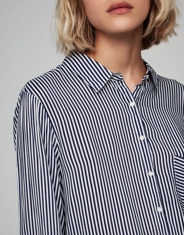 Long sleeve printed shirt