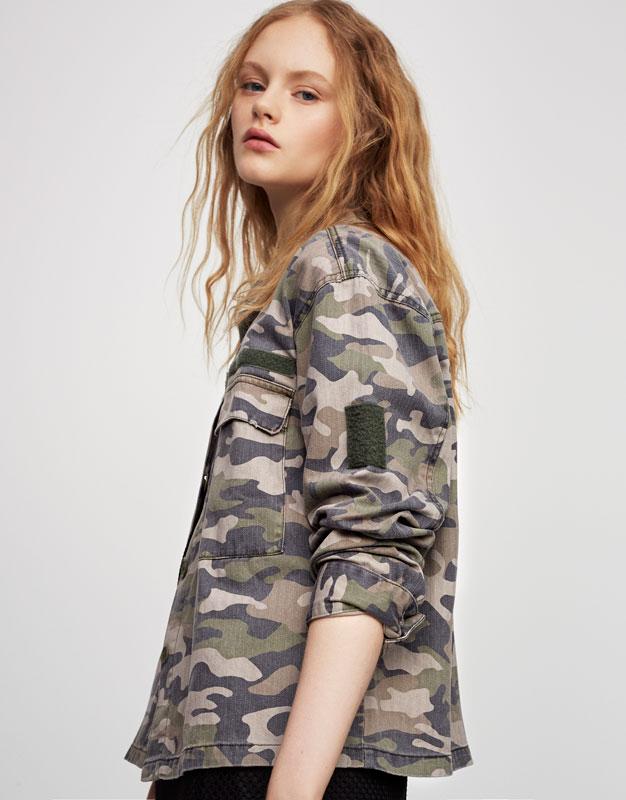 Surchemise camouflage