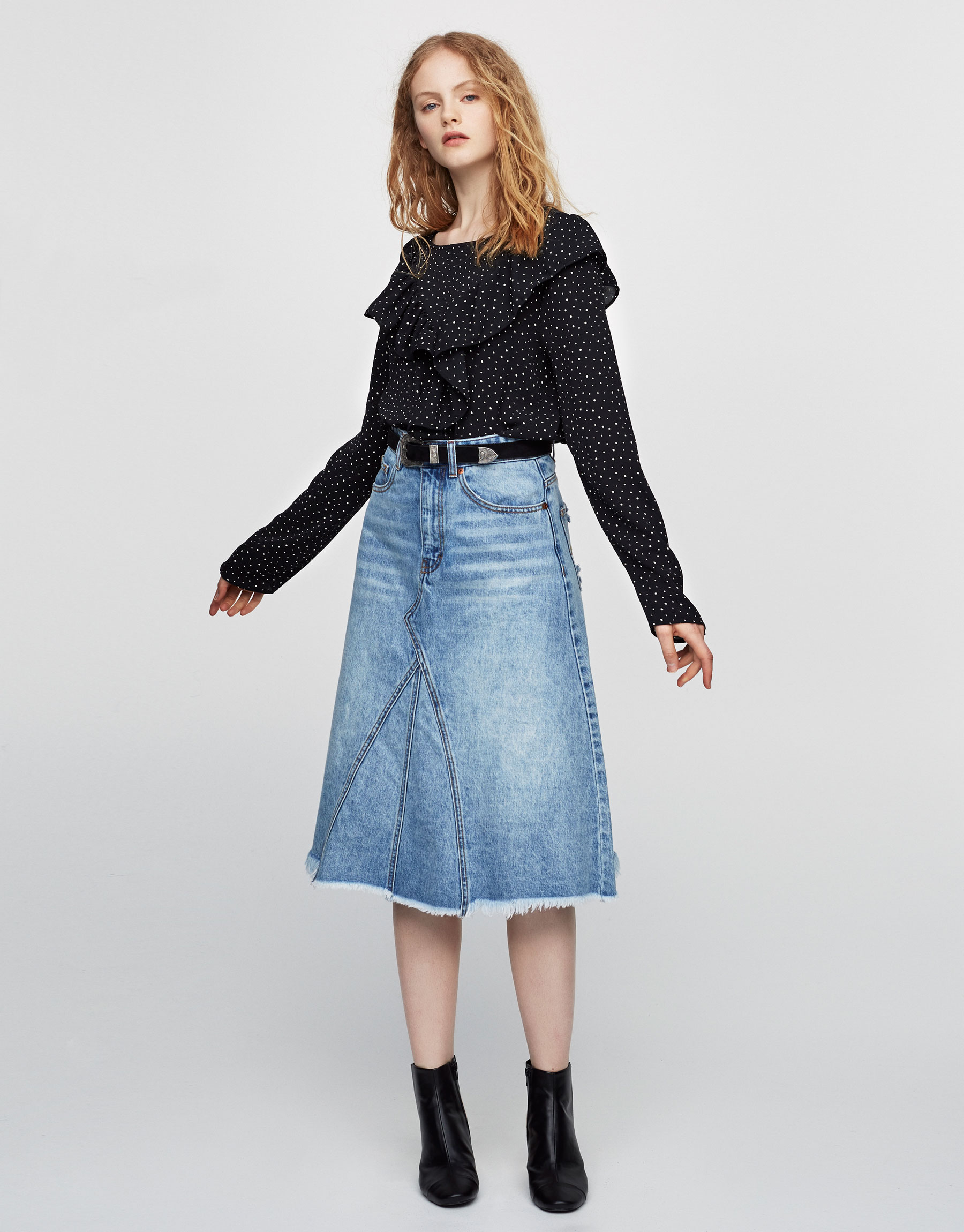 Top with front frills