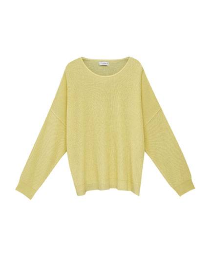 Seamed sweater