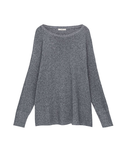 Square-cut sweater