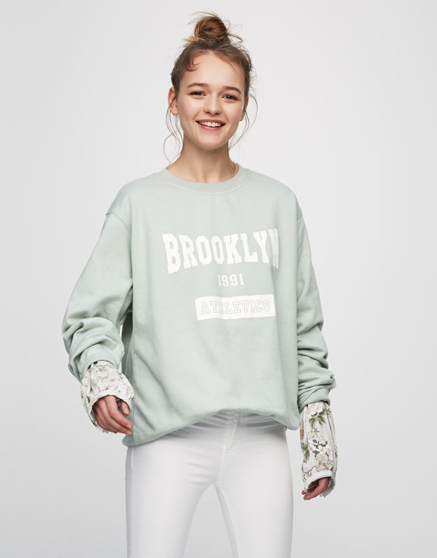 Oversized Brooklyn sweatshirt