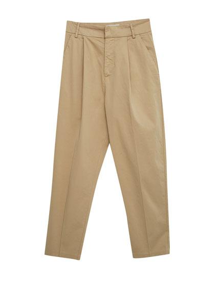 Pantalons xinesos de tir llarg