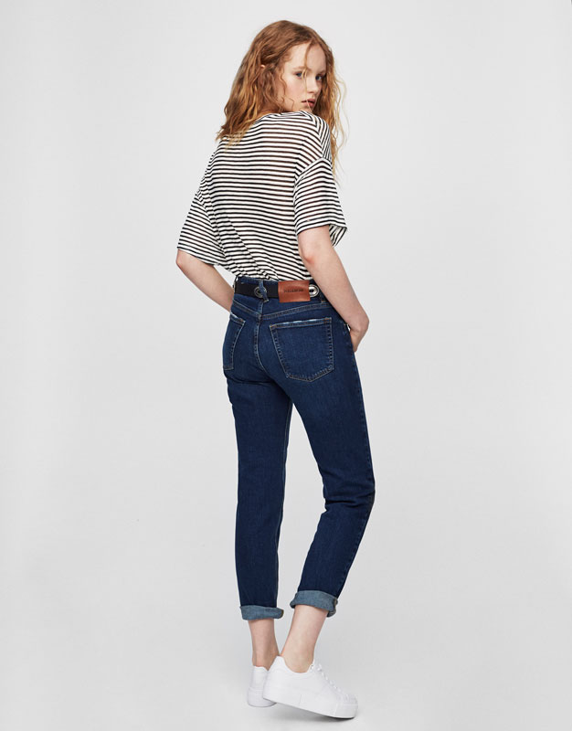 Jean regular fit taille normale