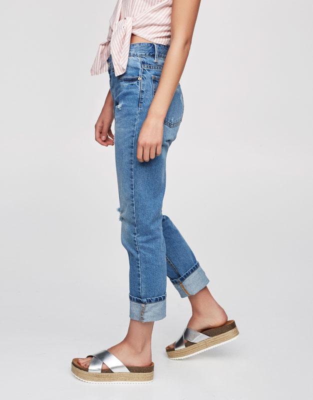 Jeans básicos boyfriend